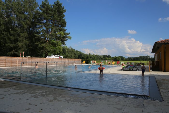 Freibad Park Camping Iller Schwimmbad
